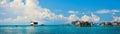 Sea gypsy village Stock Image