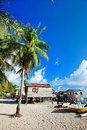 Sea gypsy village in Malaysia Royalty Free Stock Photo