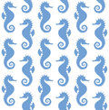 Sea horse pattern vector illustration eps Royalty Free Stock Photography