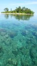 Sea and island little at karimun jawa indonesia Stock Photography