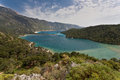 Sea landscape lagoon near fethiye turkey Stock Image