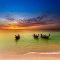Sea landscape nature background thailand background Royalty Free Stock Photography
