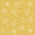 Sea life pattern Stock Photography