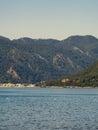 Sea of Marmaris, Turkey with beautiful scenery