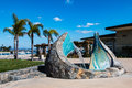 `Sea Passage` Sculpture/Fountain in Coronado, California