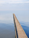 Sea pier Royalty Free Stock Photo