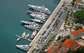Sea Port of Kotor, Montenegro Stock Photos