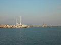 Sea port, Sochi Yacht Marina Royalty Free Stock Photo