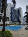 Sea Residences Pool 2 Royalty Free Stock Photo