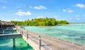 Sea Resort Royalty Free Stock Photo