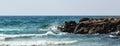 Sea and rocks Royalty Free Stock Photo