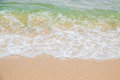 Sea and sand beautiful background Royalty Free Stock Photo