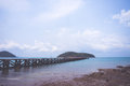 Sea scape and island at thailand Stock Photos