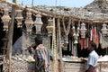 Sea Shell Souvenir Shop in Rameswaram, India Royalty Free Stock Photo