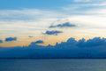 The sea and sky Royalty Free Stock Photo
