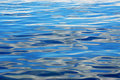 Sea and sky reflections Royalty Free Stock Photo