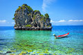Sea of southern Thailand. Royalty Free Stock Photo