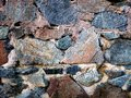 Sea stones background close up of use for stone nature Royalty Free Stock Photos