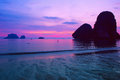 Sea sunset landscape thailand ocean nature sunset Stock Photography