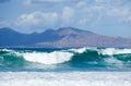 Sea swell Royalty Free Stock Photos