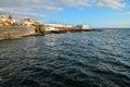 Sea village at the spanish canary islands Royalty Free Stock Photo