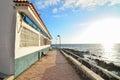 Sea village at the spanish canary islands Royalty Free Stock Photos