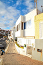 Sea village at the spanish canary islands Stock Image