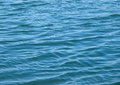 Sea water background in horizontal composition Royalty Free Stock Photography