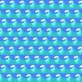 Sea Wave Background. Blue Water Pattern