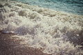 Sea wave and coast Royalty Free Stock Photo