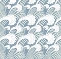 sea wave japan