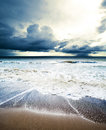 Sea waves Royalty Free Stock Photo
