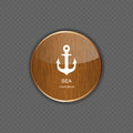 Sea wood application icons vector illustration this is file of eps format Royalty Free Stock Photography
