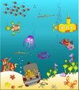 Sea world 2 Royalty Free Stock Photo