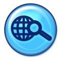 Seach Web Button Royalty Free Stock Photo