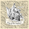 Seafarer day Royalty Free Stock Photo