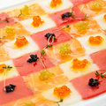Seafood Carpaccio Royalty Free Stock Photos