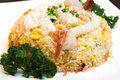 Seafood Fried Rice Stock Image