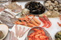 Seafood shop Royalty Free Stock Photography