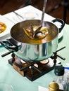 Seafood soup Royalty Free Stock Photos