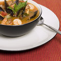 Seafood Soup Royalty Free Stock Photos