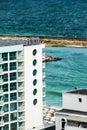 Seafront hotel at Black Sea coast in Bulgaria