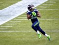 Seahawk Wide Receiver Ricardo Lockette Royalty Free Stock Photo