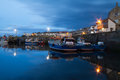 Seahouses Royalty Free Stock Photo