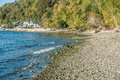 Seahurst Beach Homes Royalty Free Stock Photo