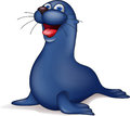Seal cartoon Stock Photos