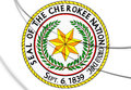 Seal of the Cherokee Nation.
