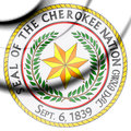 Seal of Cherokee Nation.