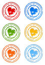 Seal of love2 Stock Images