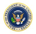 Seal of the President of the United States Isolated Royalty Free Stock Photo